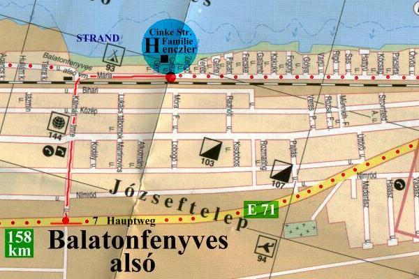 balatonfenyves térkép Balatonfenyves! Szálláshely Balaton! Vízparti apartmanok  balatonfenyves térkép